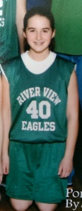 8th grade Erin, MVP bench rider, braces-wearer, and summer basketball camp free-throw champion. AKA THE NEXT LISA LESLIE.
